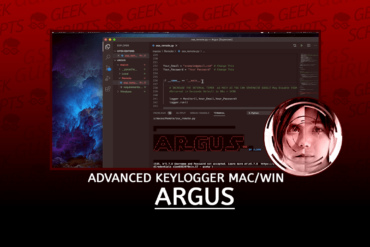 Argus Advanced Keylogger For macOS and Windows