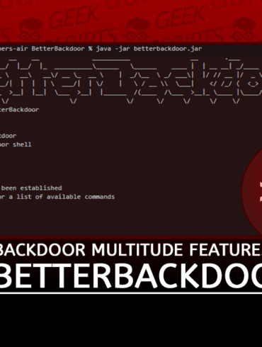 BetterBackdoor Backdoor with a Multitude Features
