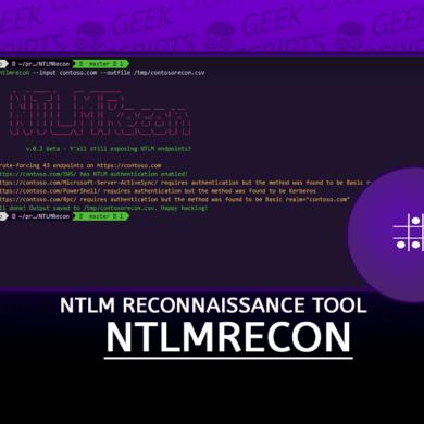 NTLMRecon Fast NTLM reconnaissance Tool