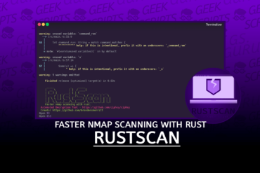 RustScan Faster Nmap Scanning with Rust