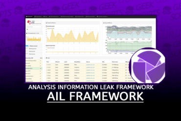 AIL Framework Analysis Information Leak Framework