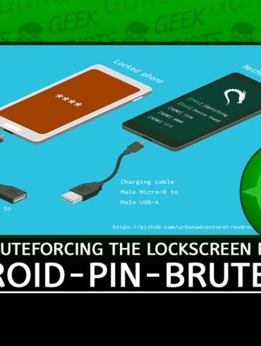 Android-PIN-Bruteforce Unlock Android phone by bruteforcing lockscreen PIN