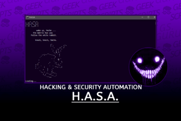 H.A.S.A Hacking And Security Automation