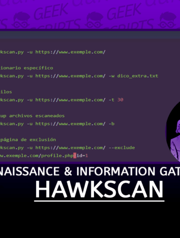HawkScan Reconnaissance and Information Gathering