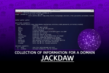 Jackdaw Collection Information for Domain
