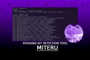 Miteru An Experimental Phishing Kit Detection Tool