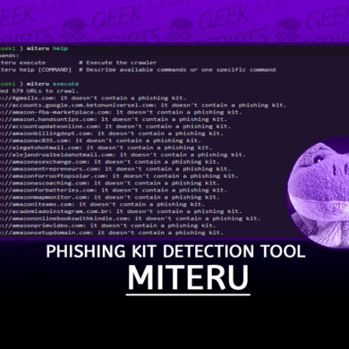 Miteru An Experimental Phishing Kit Detection Tool