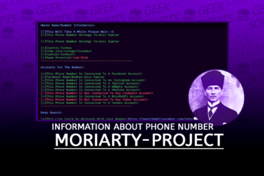 Moriarty-Project Information about Phone Number
