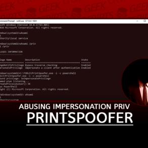 PrintSpoofer Abusing Impersonation Privileges on Windows 10