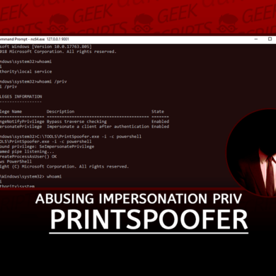 PrintSpoofer Abusing Impersonation Privileges on Windows 10