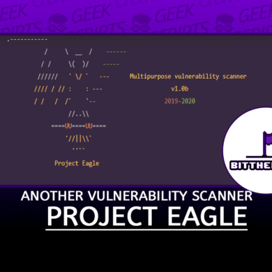 Project Eagle Another Vulnerability Scanner