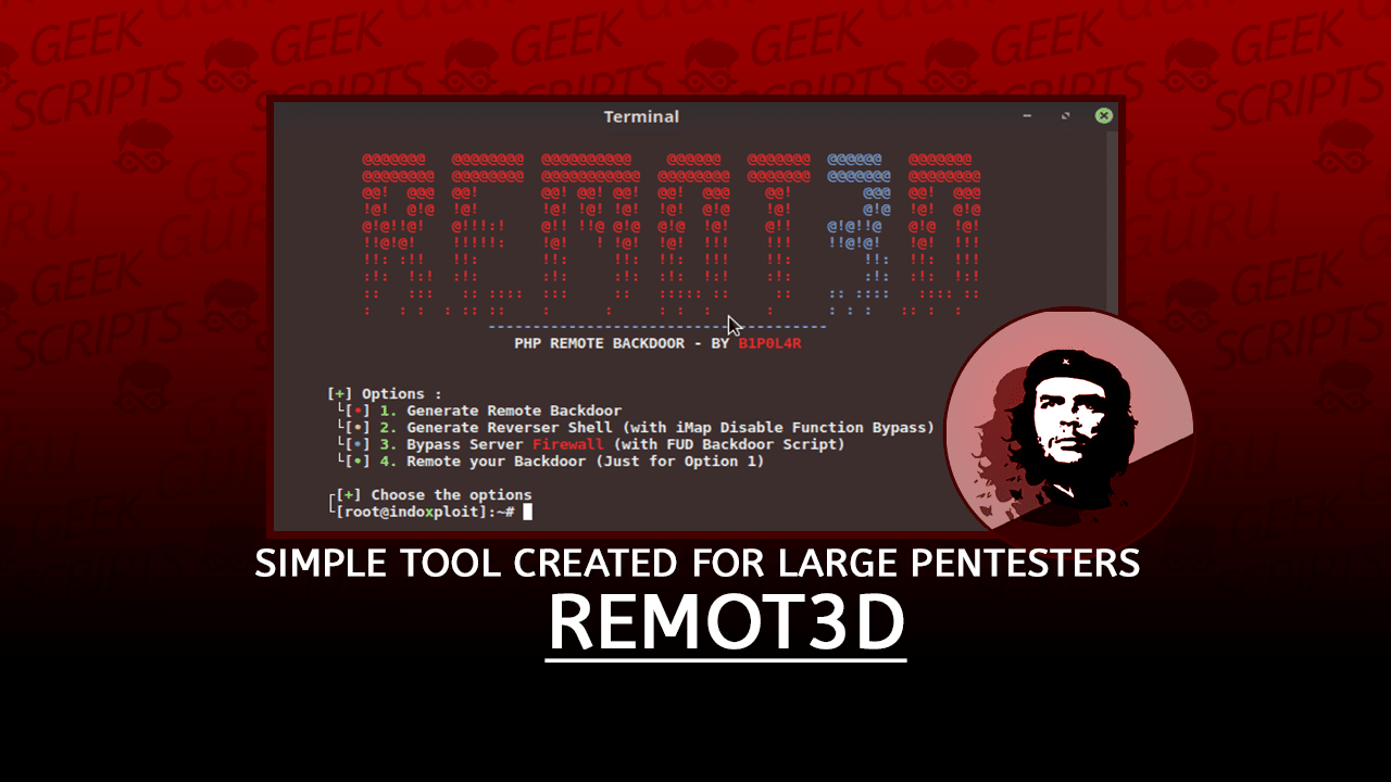 Remot3d Simple Tool created for large Pentesters