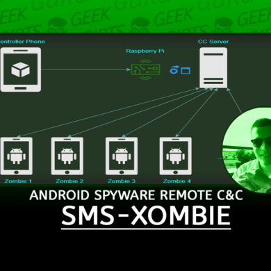 SMS-Xombie Android Spyware Remote C&C Server