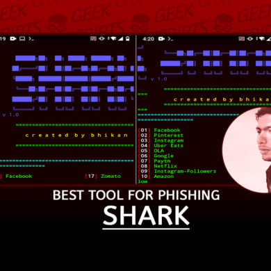 Shark Best Tool for Phishing