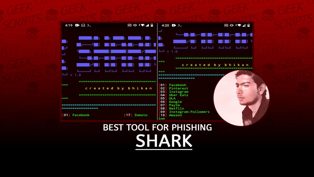 Shark Best Tool for Phishing