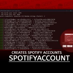 SpotifyAccountCreator Creates Spotify Accounts for You