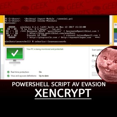 Xencrypt A PowerShell Script Anti-Virus Evasion Tool