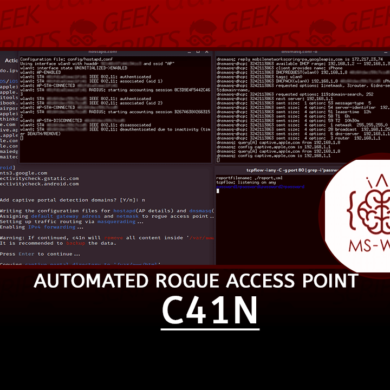 c41n Automated Rogue Access Point Setup Tool