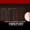 fbreport Remove Facebook Account