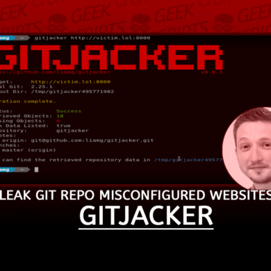 gitjacker Leak Git Repositories from Misconfigured Websites