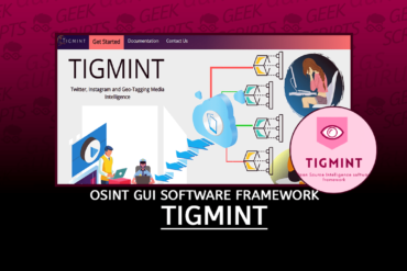TIGMINT Twitter, Instagram and Geo-Tagging OSINT