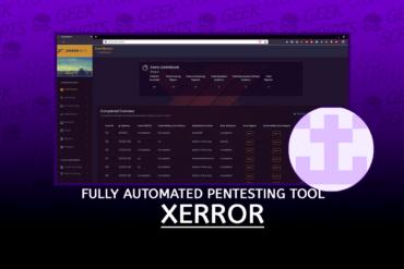 Xerror Fully Automated Pentesting Tool