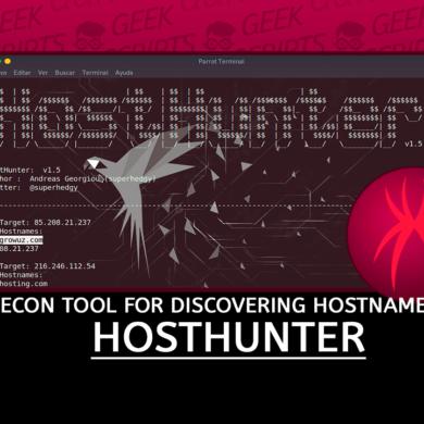 HostHunter Recon Tool for Discovering Hostnames