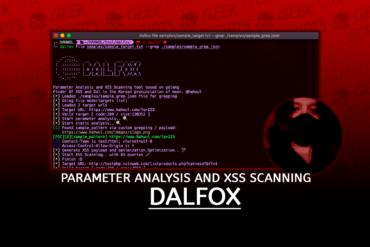 DalFox Parameter Analysis and XSS Scanning