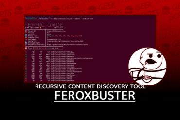 FeroxBuster Recursive Content Discovery Tool