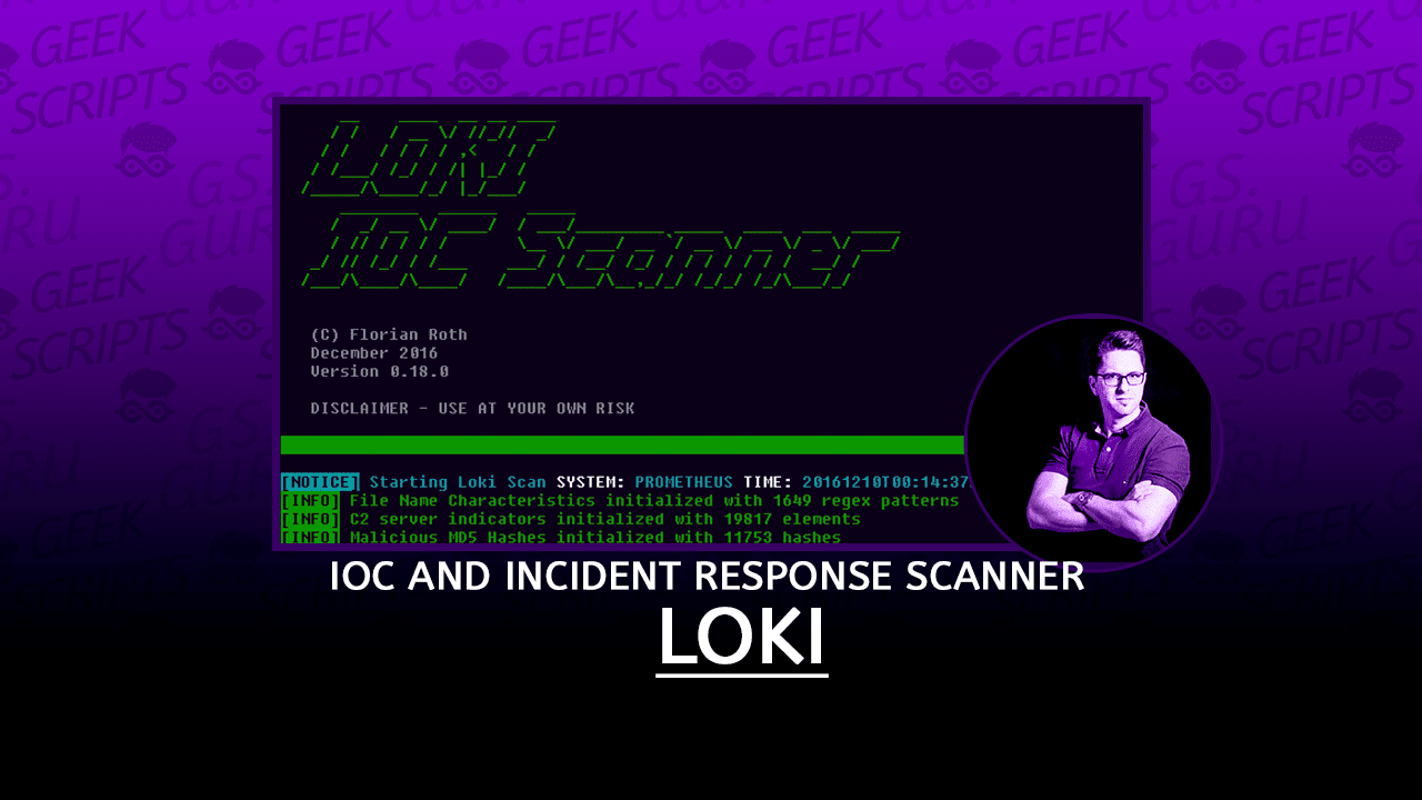 Loki Simple IOC and Incident Response Scanner