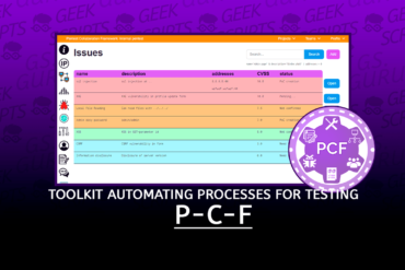 PCF Toolkit for Automating Routine Processes for Testing