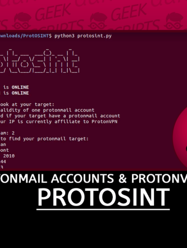 ProtOSINT Investigate ProtonMail Accounts ProtonVPN IP Addresses