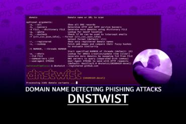 dnstwist Domain Name Permutation Detecting Phishing Attacks