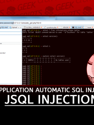 jSQL Injection Java Application for Automatic SQL Injection