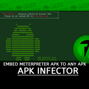 APK Infector EmbedB meterpreter APK to any APK