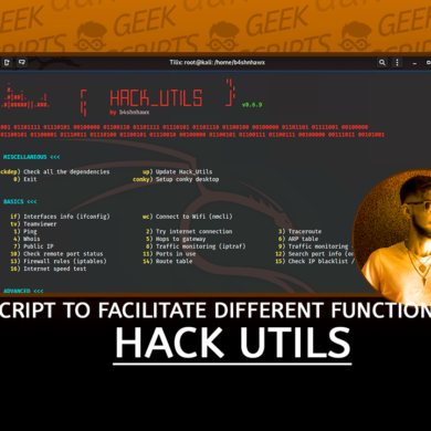 Hack_Utils Script to Facilitate Different Functions
