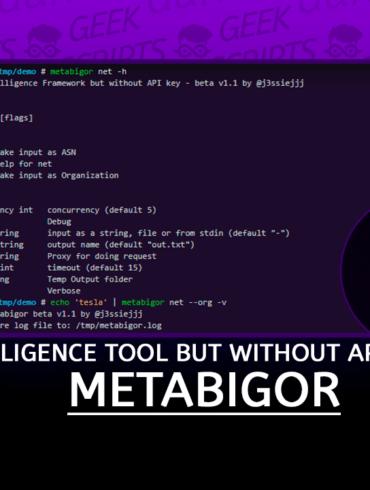 Metabigor Intelligence tool but without API key