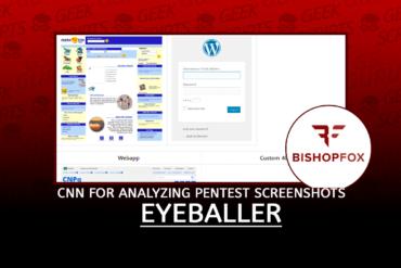 Eyeballer Convolutional Neural Network for Analyzing Pentest Screenshots