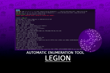 LEGION Automatic Enumeration Tool