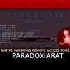 ParadoxiaRat Native Windows Remote access Tool