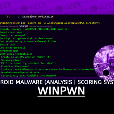 WinPwn Automation for internal Windows Pentest and AD-Security