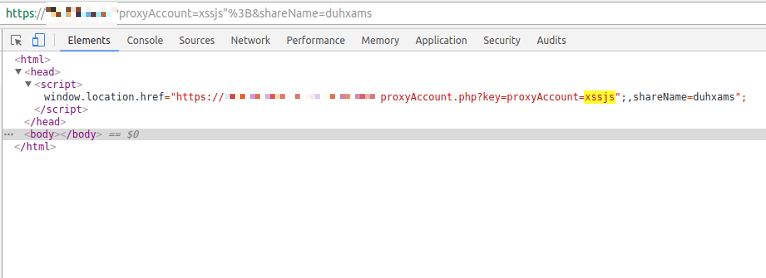 Example with NoXss