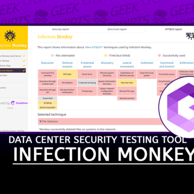 Infection Monkey Data Center Security Testing Tool