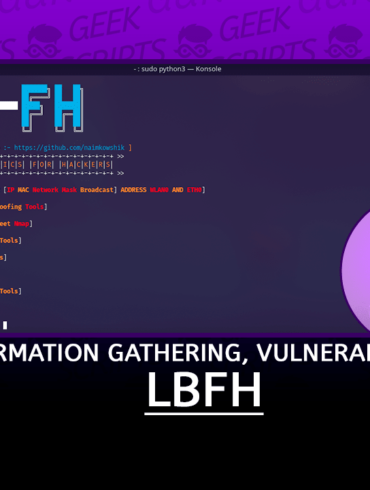 LBFH Information Gathering, Vulnerability Scanning and Crawling