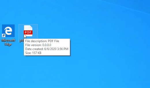Picture Of Pdf Looking Exe File