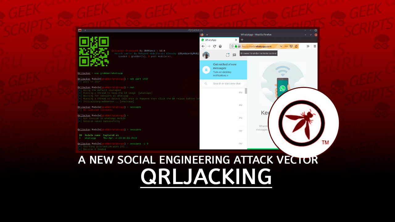 QRLJacking A New Social Engineering Attack Vector