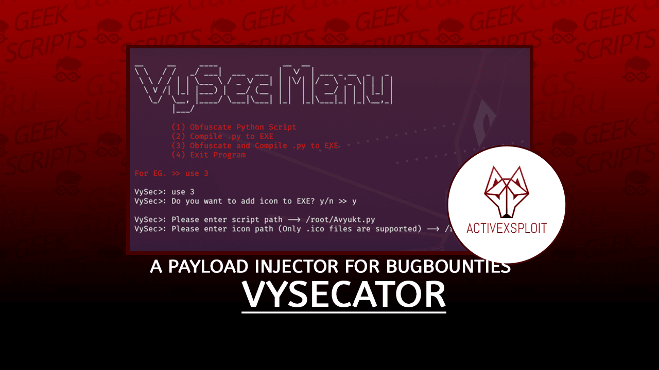 VySecator Tool to Obfuscate your Python Script