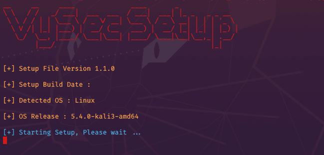 VySecator Setup on Linux