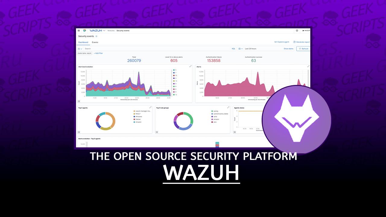 Wazuh The Open Source Security Platform
